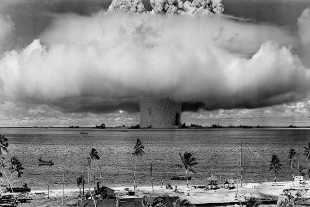 """• Los eventos de """"El Niño"""" se van a duplicar... Prueba-nuclear-francesa"""