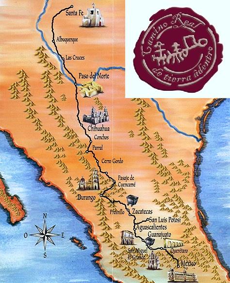 Camino Real de Tierra Adentro.