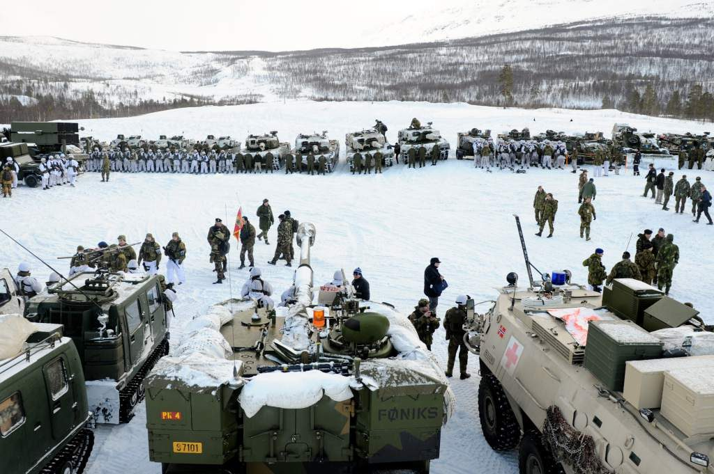 Maniobras militares en el Ártico