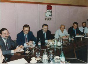 Reunión de la Ejecutiva Federal.