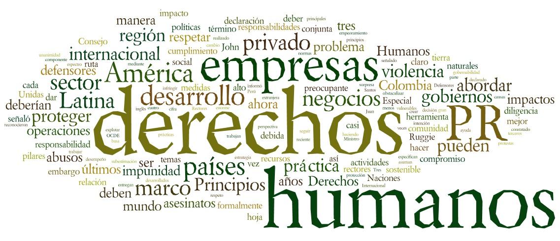 Derechos Humanos y Empresa ¿Nos quedamos mirando? | Otro Mundo Es ...