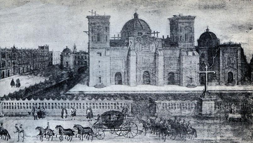 La catedral en el siglo XVIII